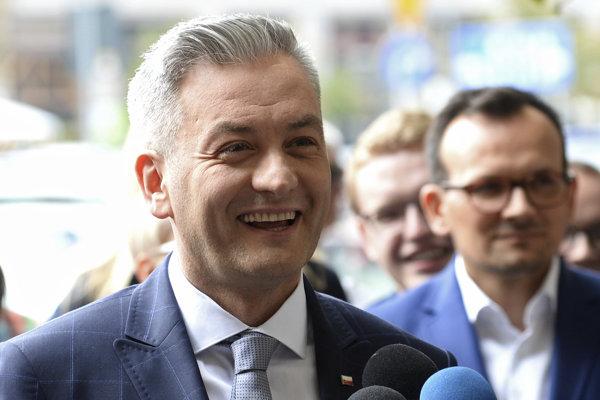 Robert Biedroň založil novú stranu Wiosna (Jar).