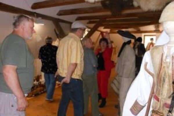Ovčiarske múzeum v Liptovskom Hrádku hostí zo zahraničia zaujalo.