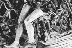 Veci, ktoré v Osvienčime zostali po zabitých Židoch, desia aj desiatky rokov po vojne.