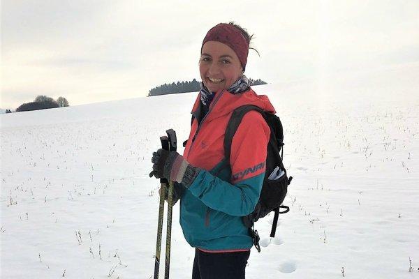 Bežkovanie si veľmi obľúbila aj Iveta Švecová z Martina.