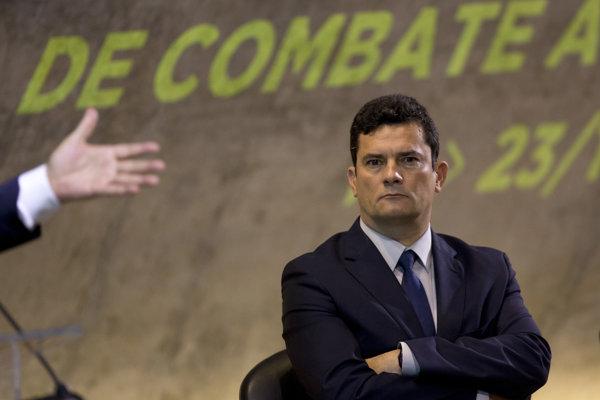 Brazílsky minister spravodlivosti Sérgio Moro.