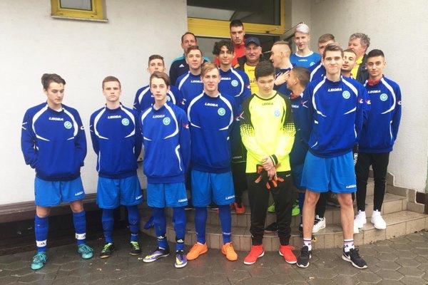 ObFZ Nitra reprezentovali chalani zo šiestich klubov.