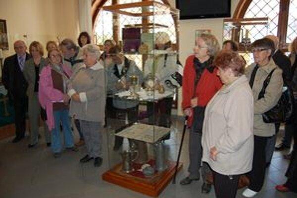 Ukázali poklady a predstavili významné dejiny cirkevného zboru.