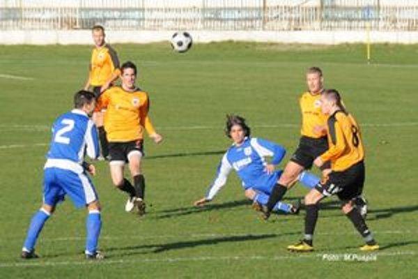 Ružomberská rezerva nedeľný zápas v Šali nezvládla.