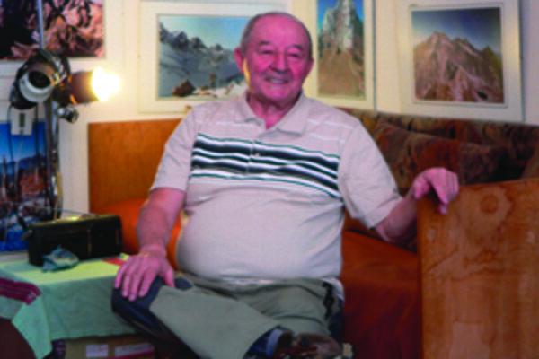 Aj teraz už ako starý muž sa Jaroslav Součík najlepšie cíti v Tichej a Kôprovej doline.