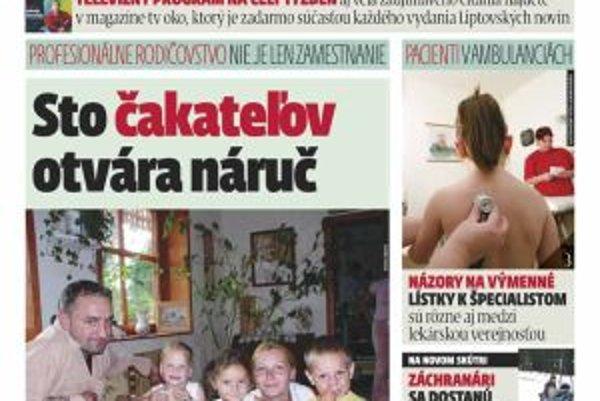 Nové vydanie MY Liptovské noviny prináša zaujímavé témy.