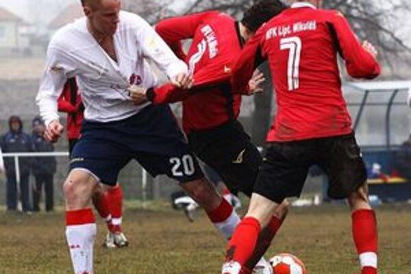 Ružomberskí futbalisti chcú robiť všetko preto, aby vyhrali.