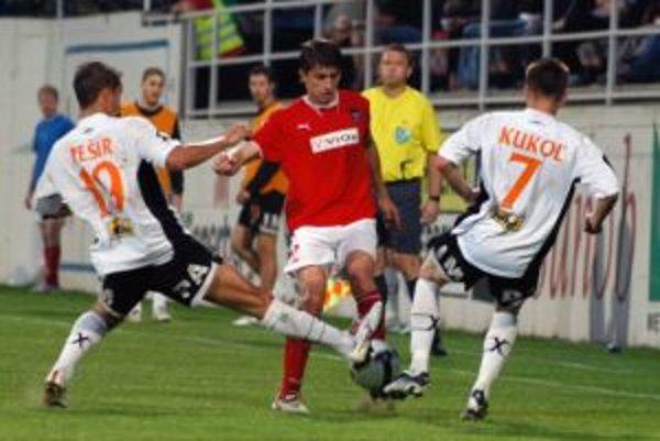 Po zápase v Moravciach na piatu Petržalku strácajú Ružomberčania dva body.
