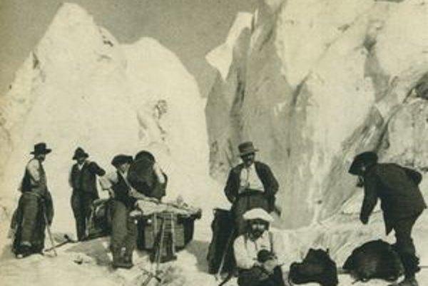 Viac ako politika zaujímala Milana Rastislava Štefánika vedecká práca. S expedíciou do hvezdárne na Mont Blanc v roku 1905.