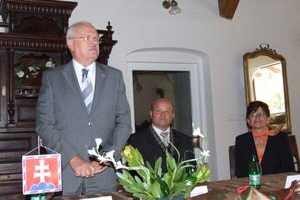 Prezident republiky Ivan Gašparovič navštívil Liptovský Hrádok.
