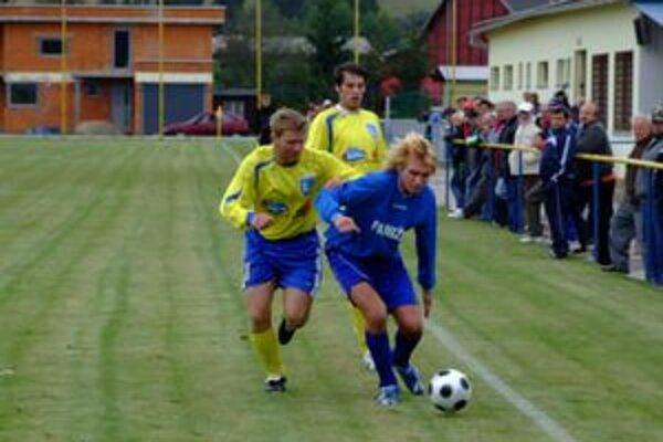 Futbal sa v Liptove teší každý víkend aj veľkej priazni divákov.
