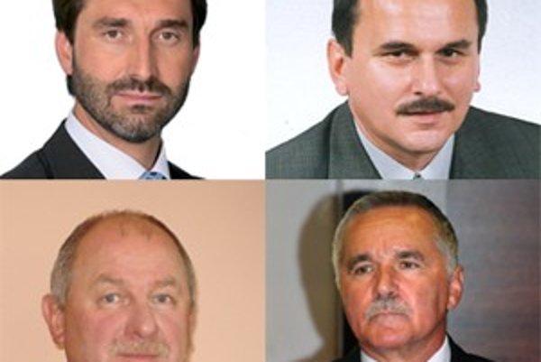 Toto sú štyria kandidáti. Jeden z nich bude predsedom Vyššieho územného celku.