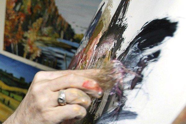 Svojimi obrazmi sa môžu pochváliť amatérski výtvarníci.