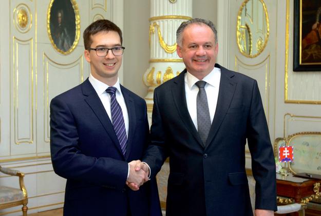 Podnikatelský talent absolventa FI MU Andreje Pančíka ocenil i prezident SR Andrej Kiska.