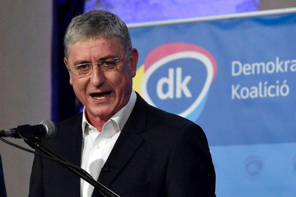 Predseda Demokratickej koalície (DK) Ferenc Gyurcsány.