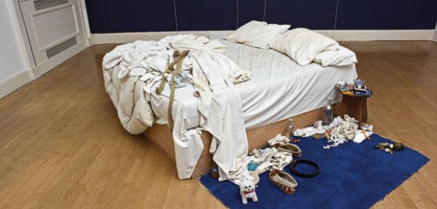Moja posteľ od Tracey Aminovej.