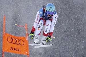 Švajčiarka Wendy Holdenerová počas 1. kola.