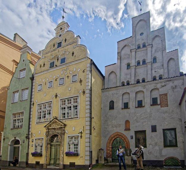 Komplex Traja bratia, Riga.