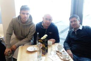 Andrej Fábry mal v nedeľu v Jablonci návštevu z Nitry.