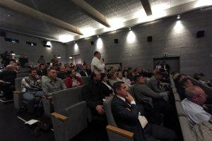Diskusia s Milanom Majerským v kine v Starej Ľubovni.
