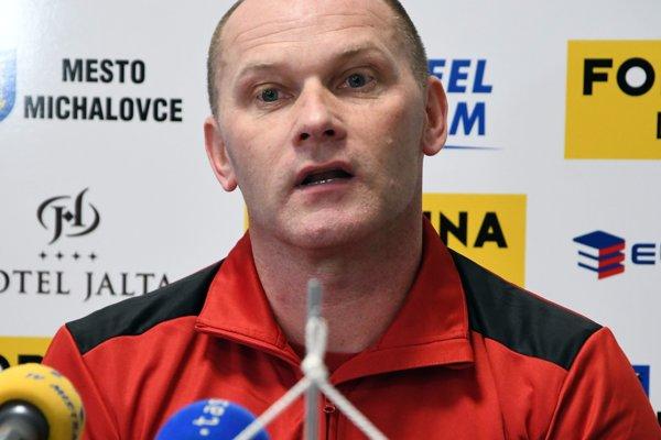 Tréner Michalovčanov Anton Šoltis.