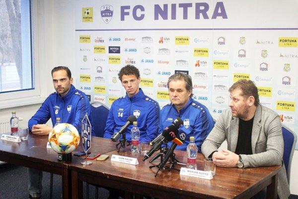 Futbalisti FC Nitra odštartujú jarnú časť v sobotu doma proti Podbrezovej.