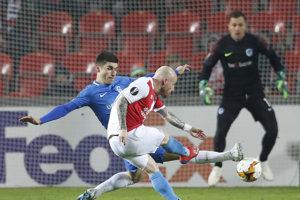 Miroslav Stoch v zápase Slavia Praha - Genk.
