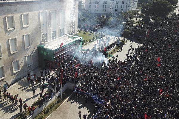Protest opozície