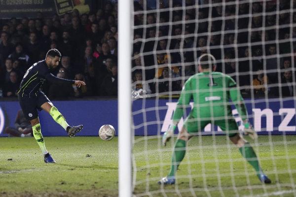 Riyad Mahrez z Manchester City na ilustračnej fotografii.