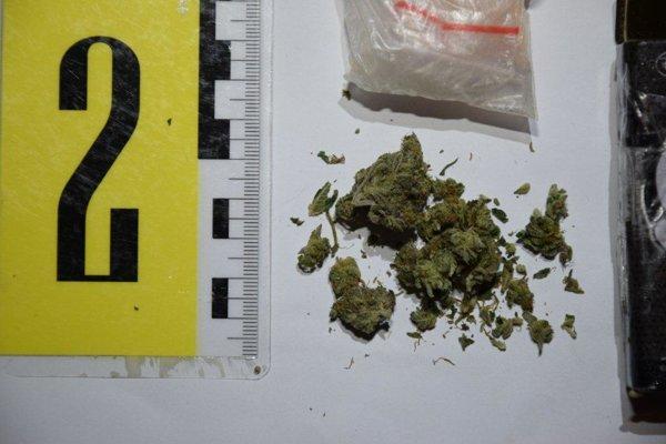 Policajti našli u mladíka drogy.