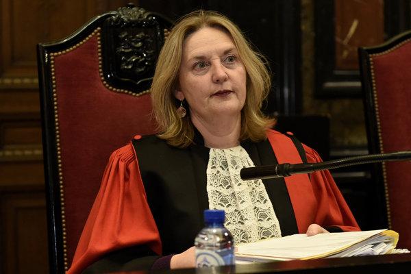 Sudkyňa Laurence Massartová.