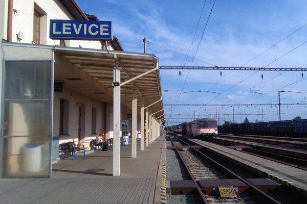 K udalosti došlo na stanici v Leviciach.