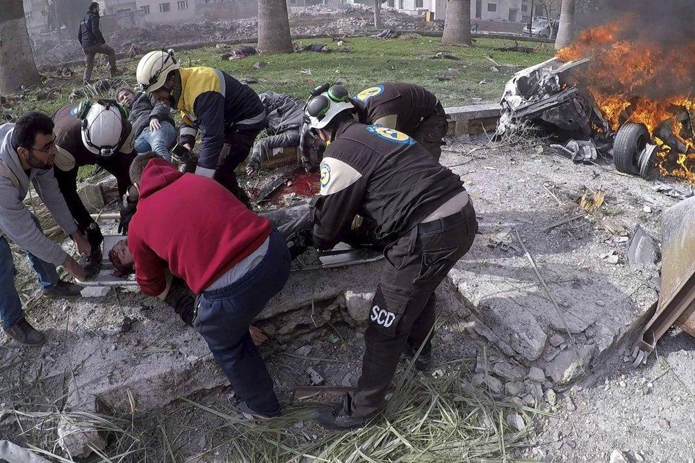 Bombový útok v Idlibe - fotogaléria - svet.sme.sk - svet.sme.sk 3430dcad599