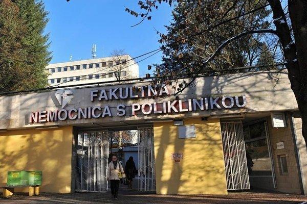 Fakultná nemocnica v Žiline.