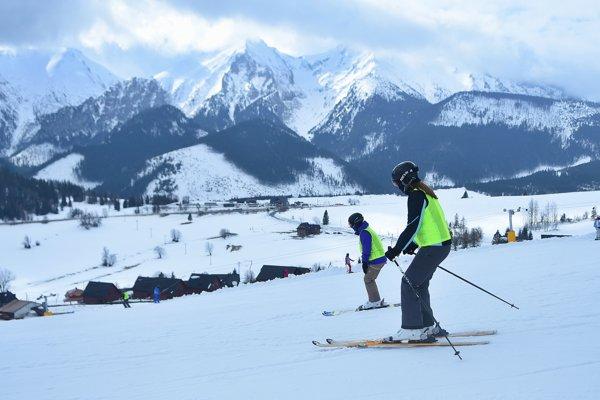 Na lyžovanie sú stále vynikajúce podmienky.