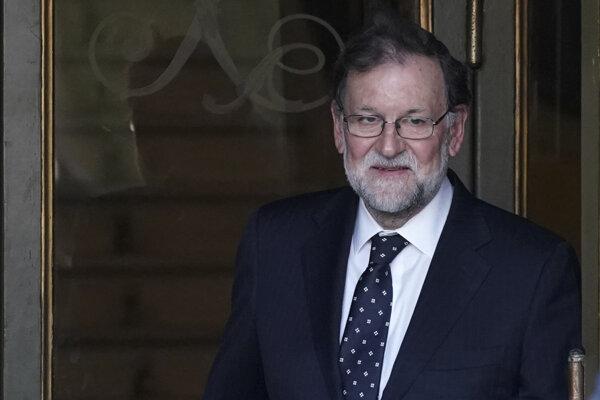 Rajoy bol premiérom Španielska od roku 2011 až do júna 2018.