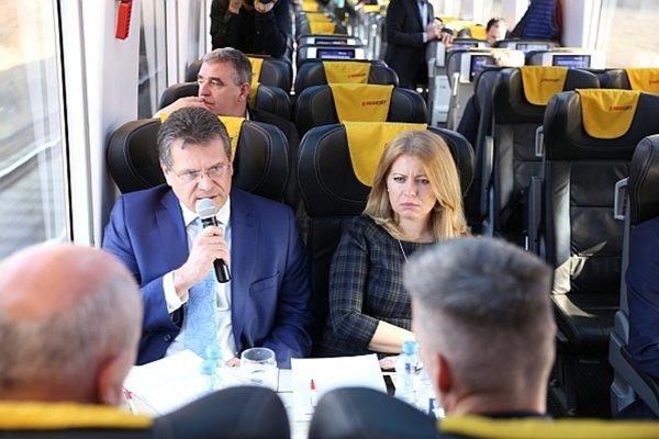 Diskusia kandidátov v rámci projektu Prezidentský vlak.