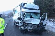 Pri tejto nehode zahynul jeden z vodičov dodávky.
