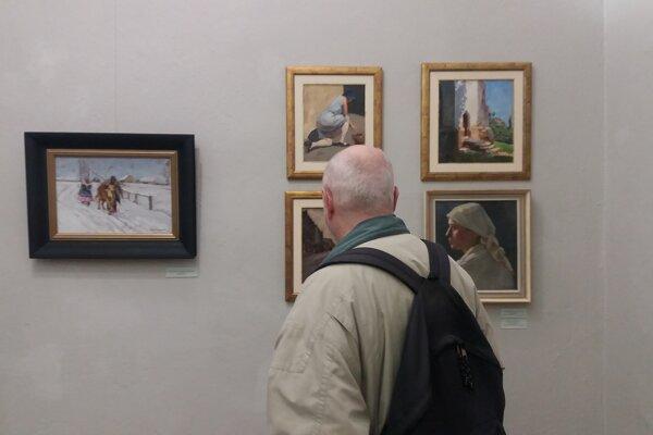Výstava Moussona a Pruknera v Košiciach.