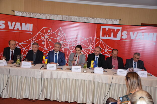 Stretnutie so županom v Košiciach.