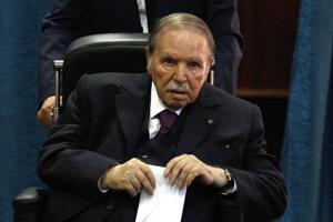 Alžírsky prezident Abdal Azíz Buteflika.
