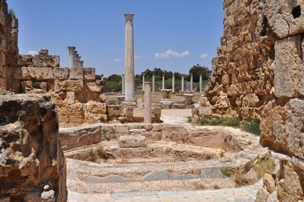 Salamina - stredoveké ruiny