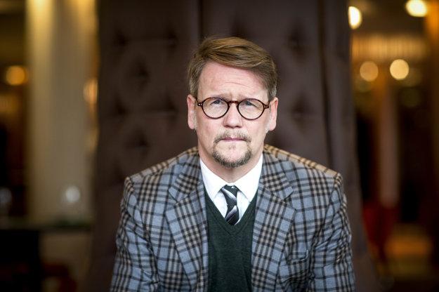 Islandský spisovateľ Sjón v Bratislave.