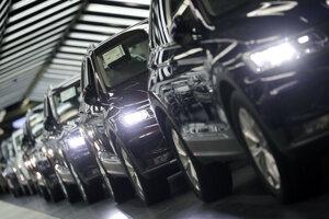 Automobily Volkswagenu počas kontroly kvality v nemeckom Wolfsburgu (ilustračné foto).