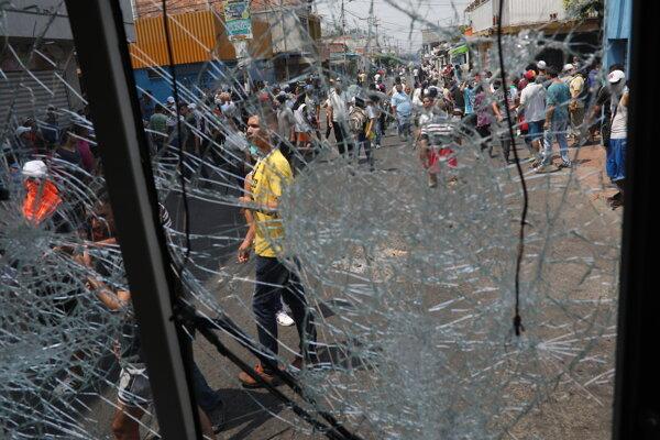 Nepokoje v kolabujúcej Venezuele, ilustračná snímka.