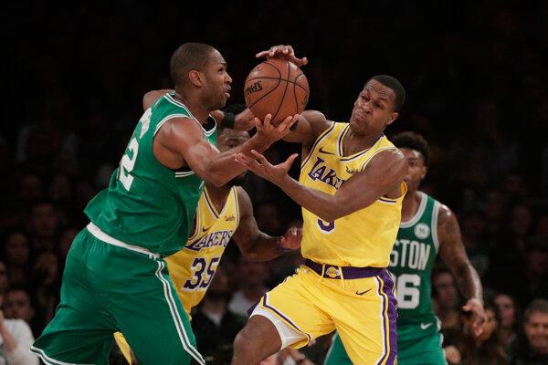 Los Angeles Lakers - Boston Celtics.