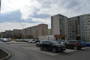 Nové parkovacie miesta na Sibírskej ulici.