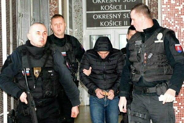 Ukrajinec na košickom súde.