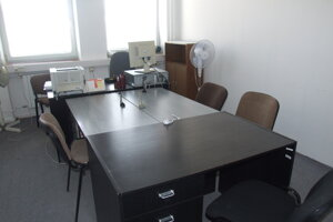 Jedna z pojednávacích miestností.