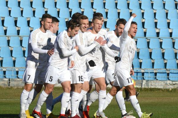 Futbalisti FC Košice už v Slovnaft Cupe vyradili Dubnicu i Zlaté Moravce. Teraz ich čaká ešte silnejší kaliber - Trnava.